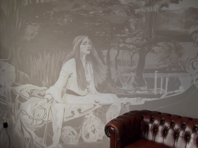 Muurschildering - muurschilderingen en portretten